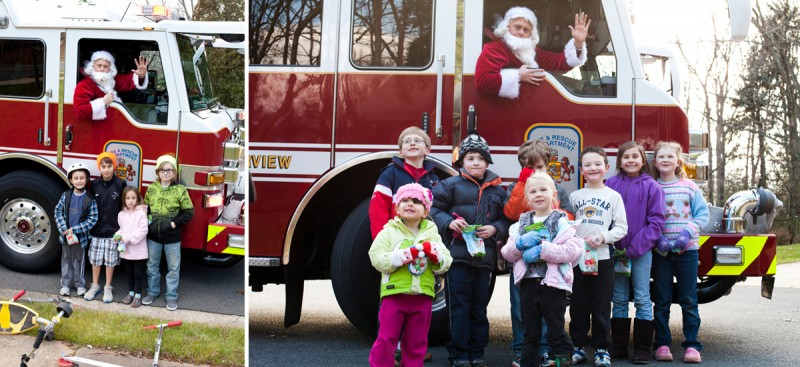 Santa Claus is Comin' to Town | Northern Virginia Event Photographer
