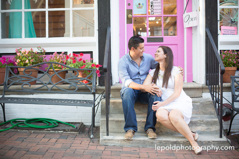 13 Old Town Engagement LepoldPhotography