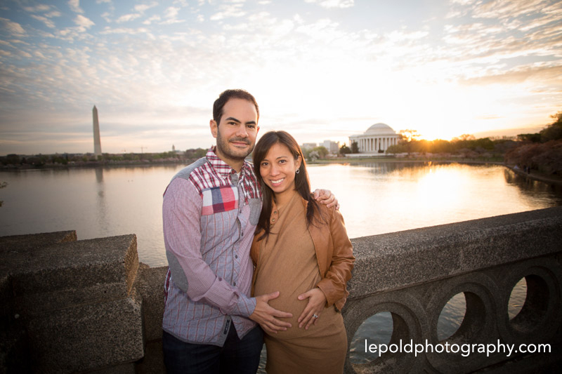 Cherry Blossom Portraits DC | Maternity Session DC