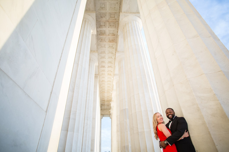 Bekah + Alrick | Gorgeous Sunrise Engagement DC