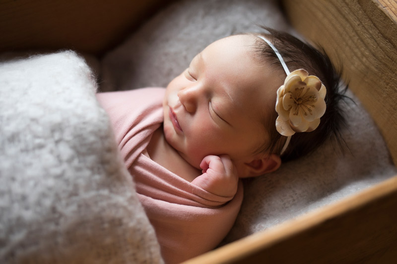 It's a Girl! | Beautiful Newborn Session