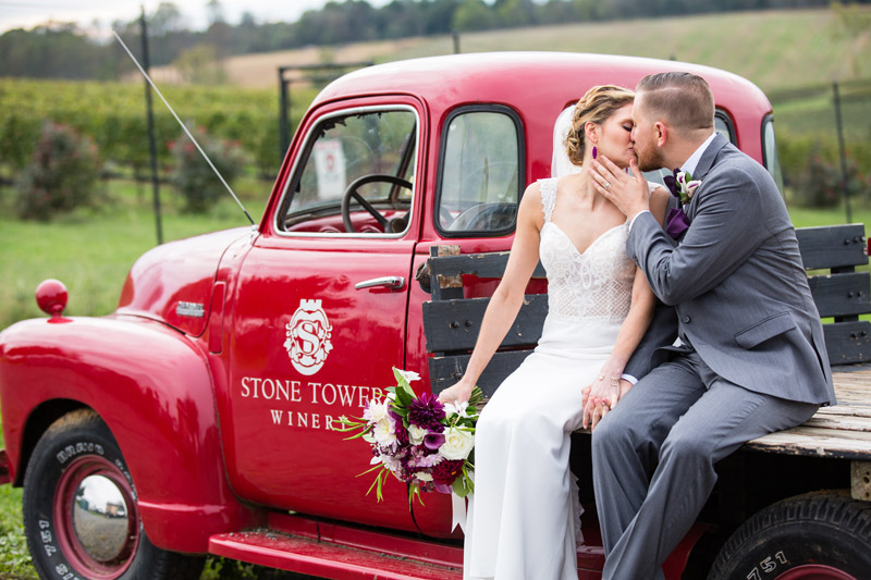Alex + Matt | Stone Tower Winery Wedding