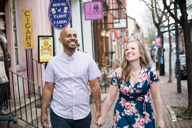 Jenna + Bruk Engaged | Old Town Engagement