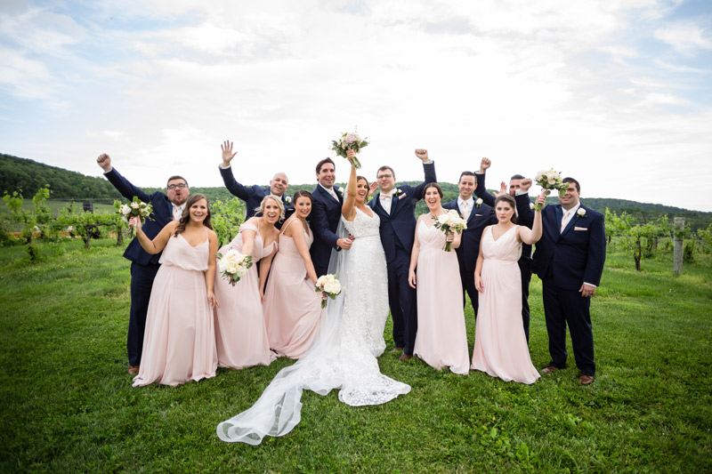 Tiffany + Nick's Wedding at Breaux Vineyards in Purcellville, VA